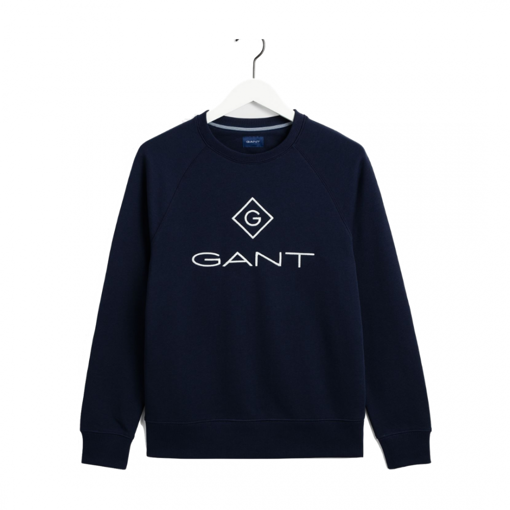 Gant Lock Up Sweat Navy