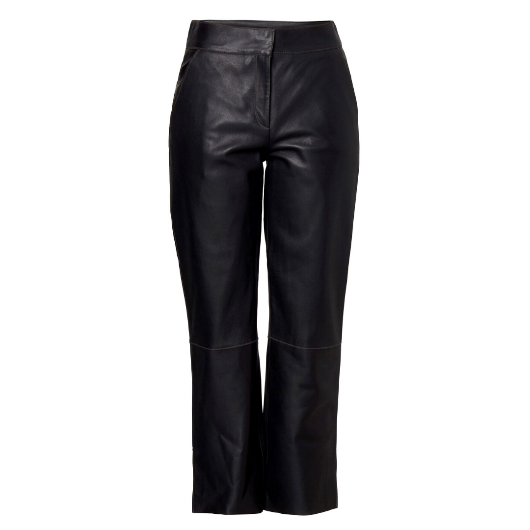 Zoe Leather Pant Black