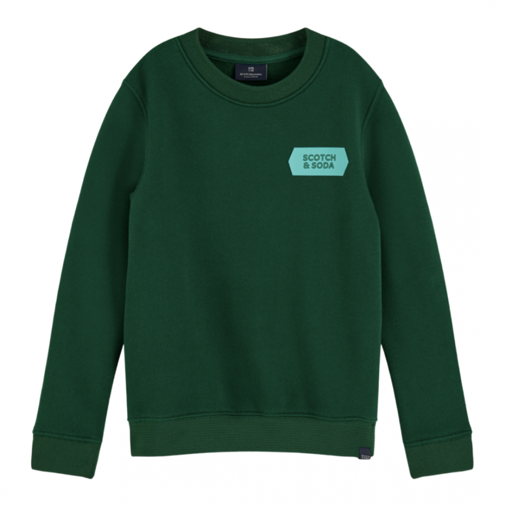Crew neck Sweat Green