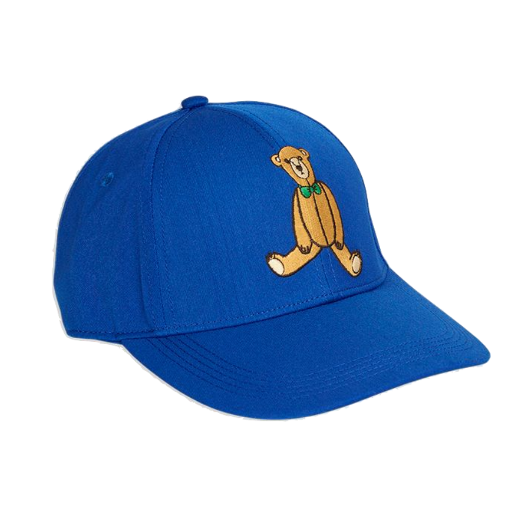 Teddy Bear Cap Blue