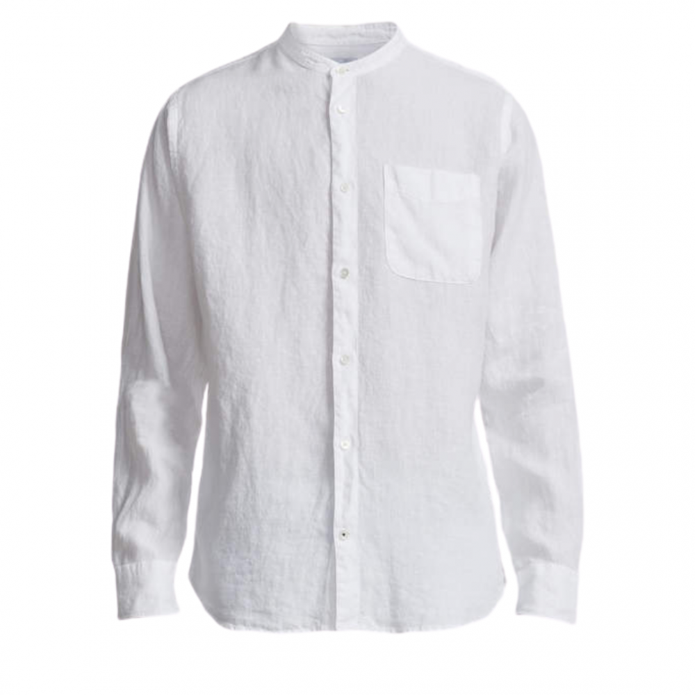 Justin Shirt 5706 White Ståkrage
