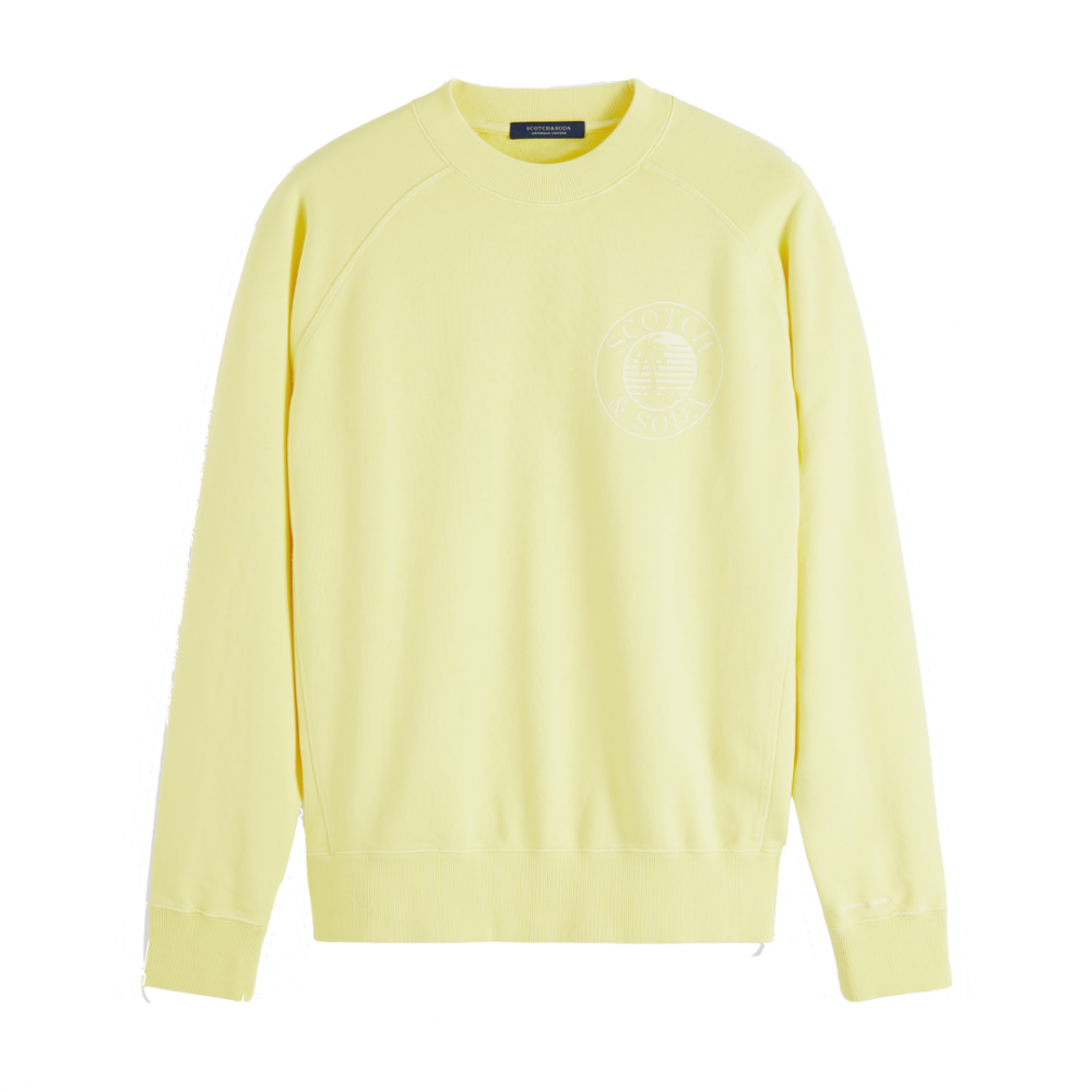 Garment Dyed Crewneck Yellow