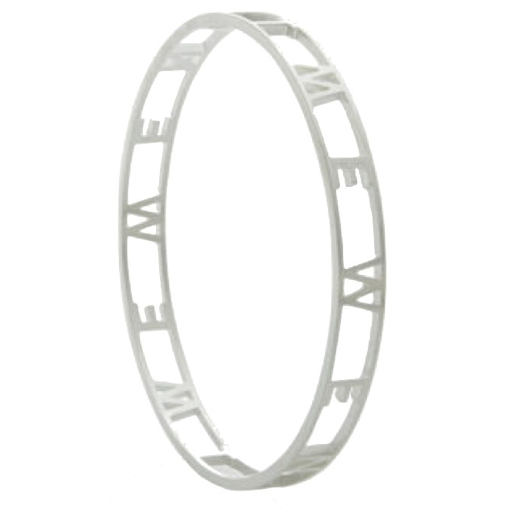 We Not Me Bangle Silver Andelius Gribbe