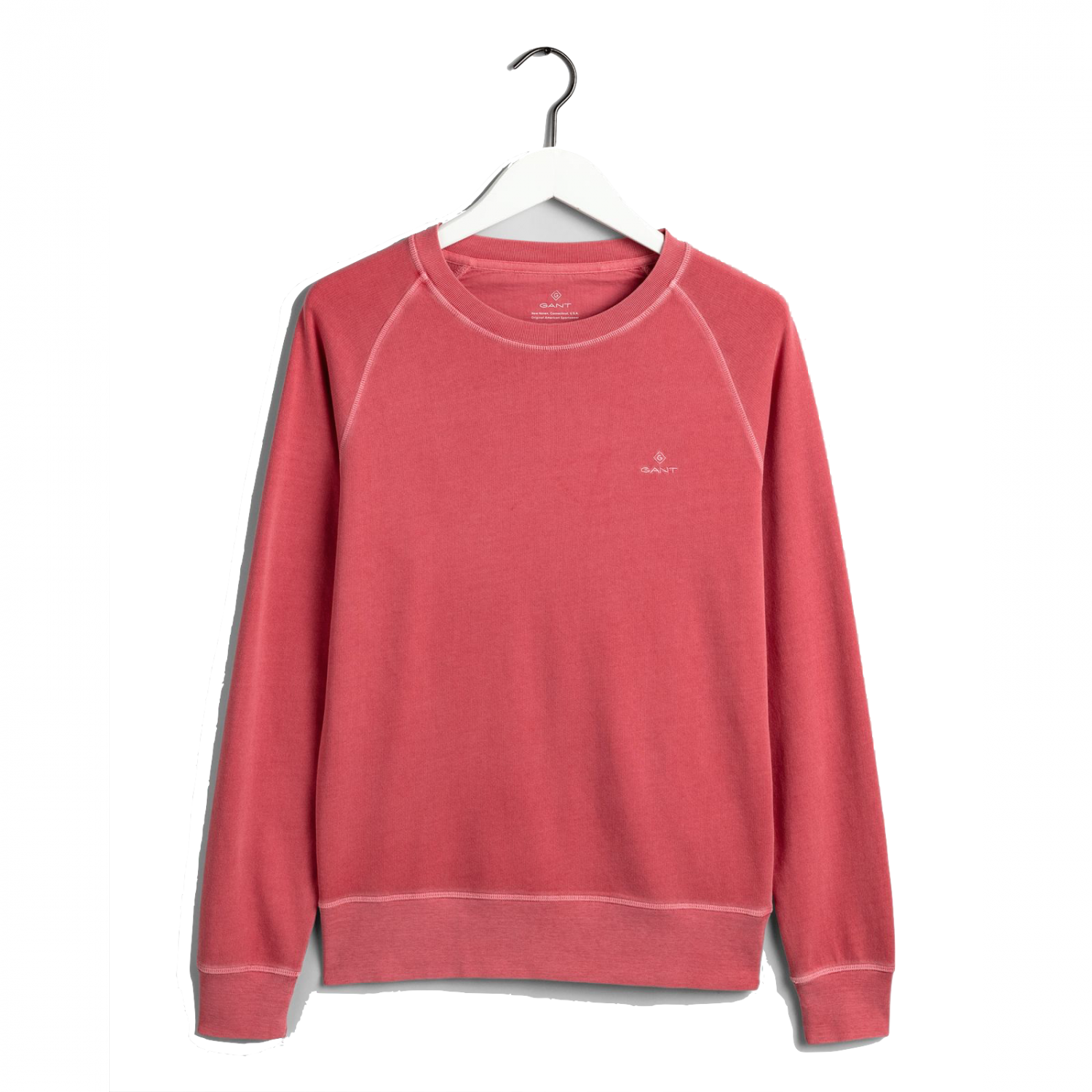 Sunfaded C-Neck Sweat Mineral Red