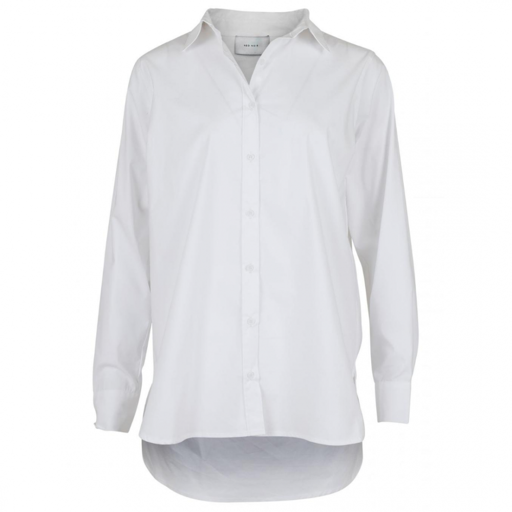 Margit Shirt White Neo Noir