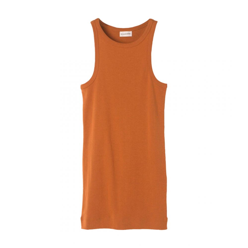 Amiee Tank Top Brick By Malene Birger