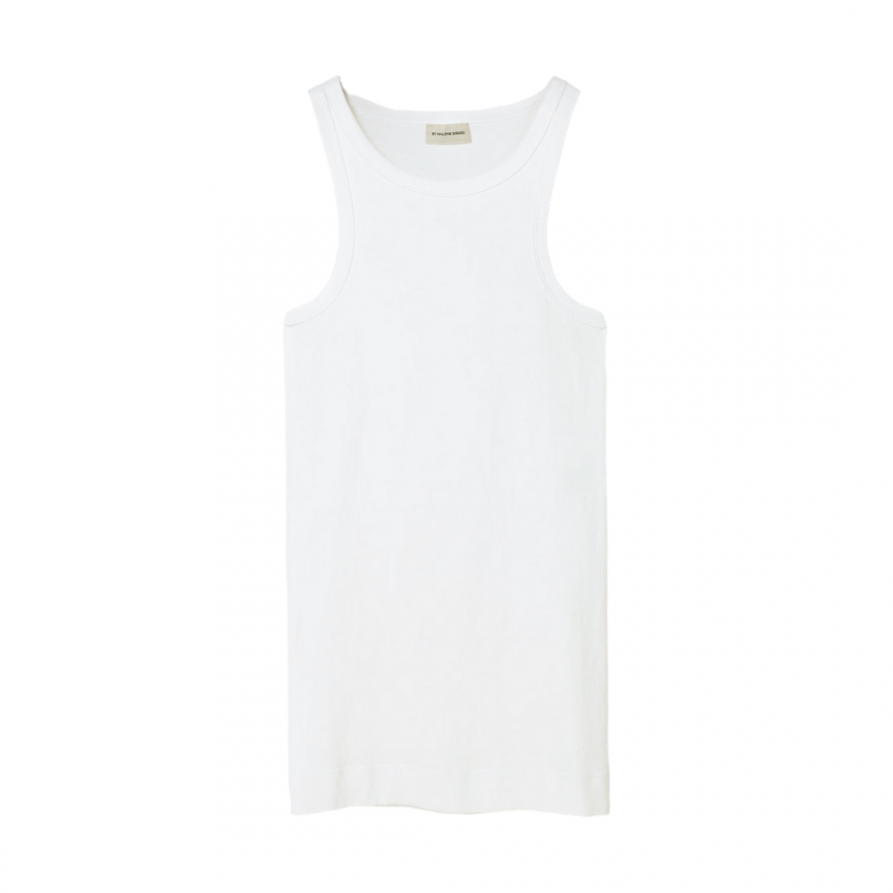 Amiee Tank Top White By Malene Birger