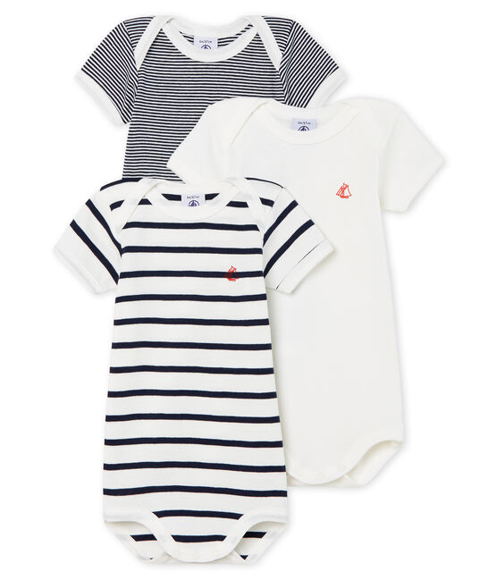 Body US MC 3pack Navy Stripe