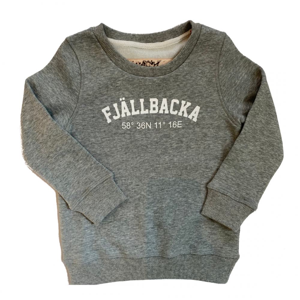 Fjällbacka Sweat Grey Kids