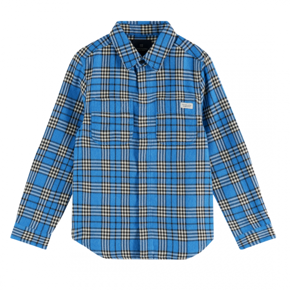 Longsleeve Flannel Check Shirt Shrunk