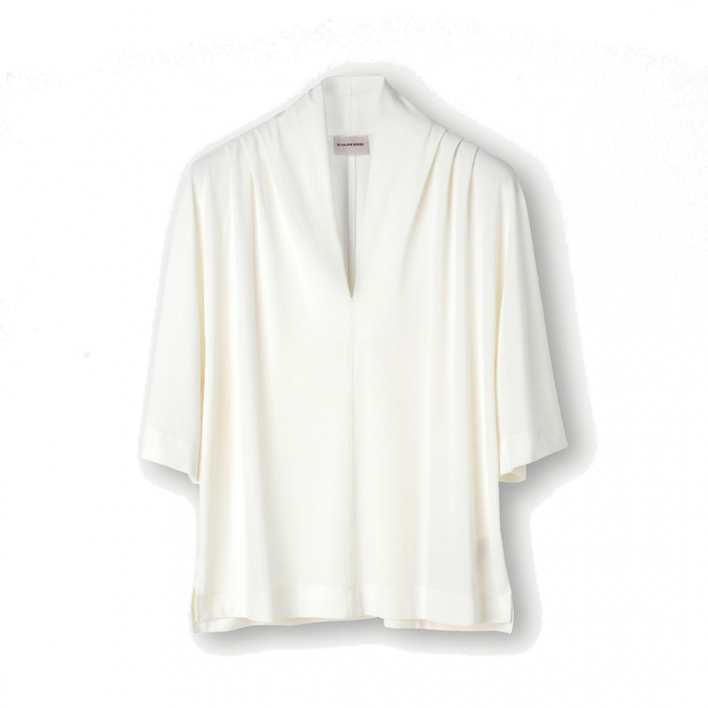Bijana Top Soft White By Malene Birger