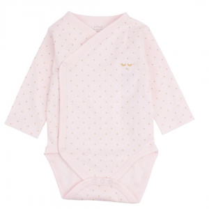 Saturday Crossed Body Baby Pink Dots