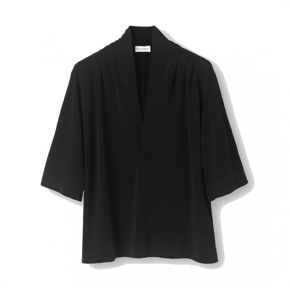 Bijana Top Black By Malene Birger