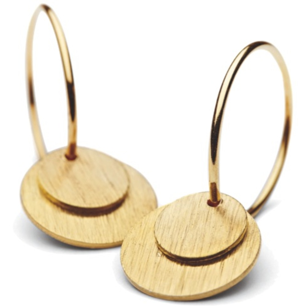 Small Coin Earrings Pernille Corydon