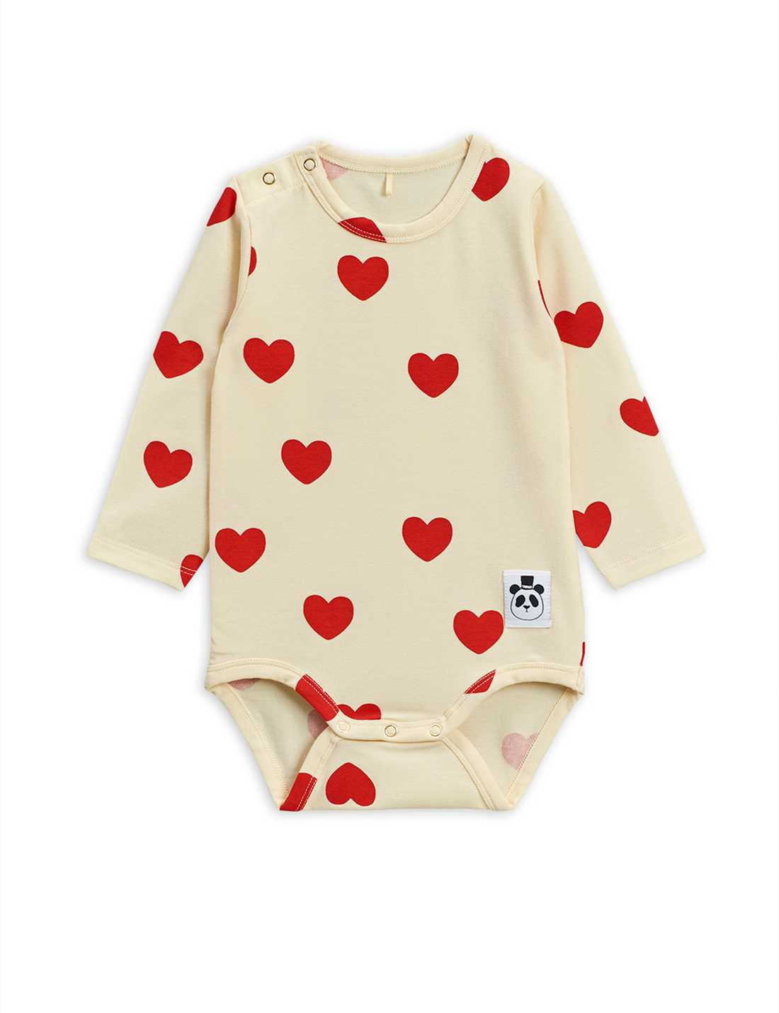 Hearts LS Body Offwhite