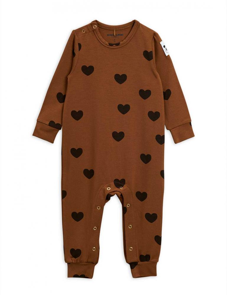 Hearts Jumpsuit Brown