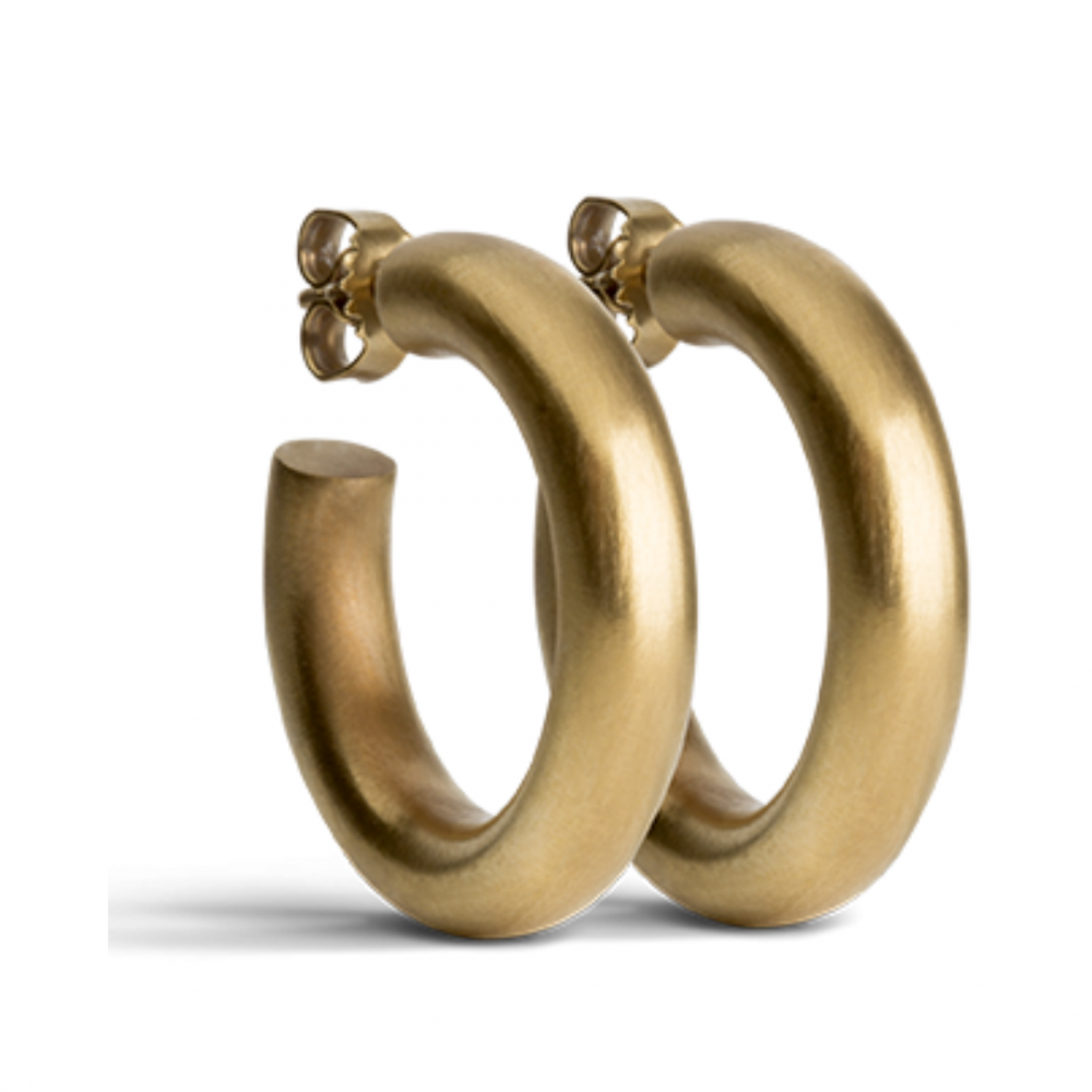 Chunky Hoops Goldplated
