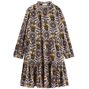 Wider Fit All Over Print Dress