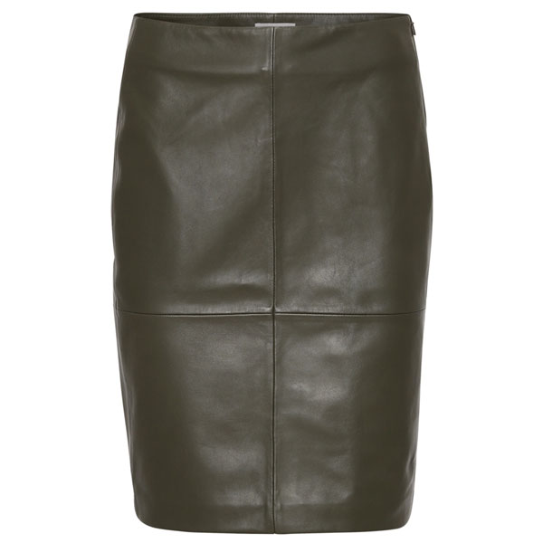 2nd Cecilia Leather Skirt
