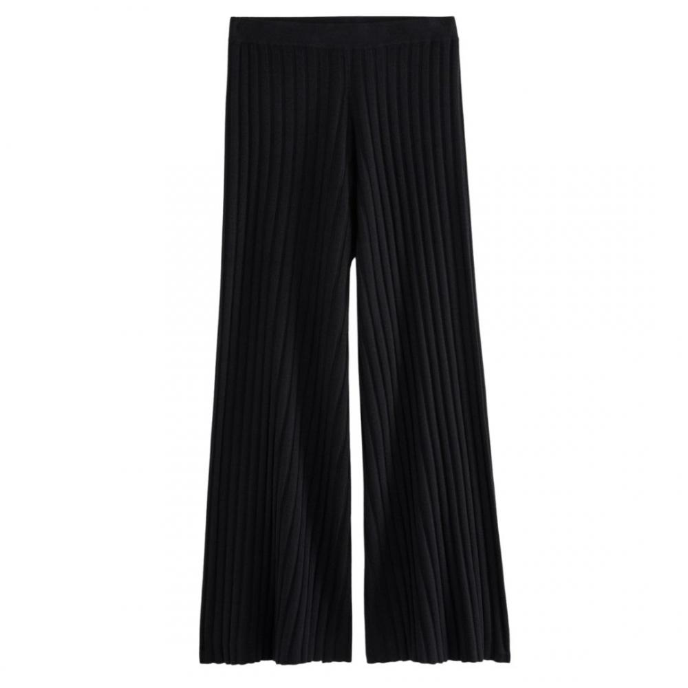 Celeste Knitted Trouser Black