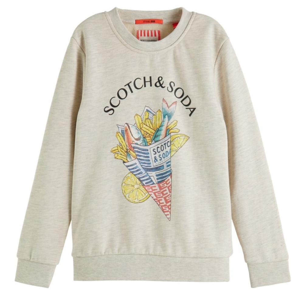 Crewneck Sweat Fish And Chips