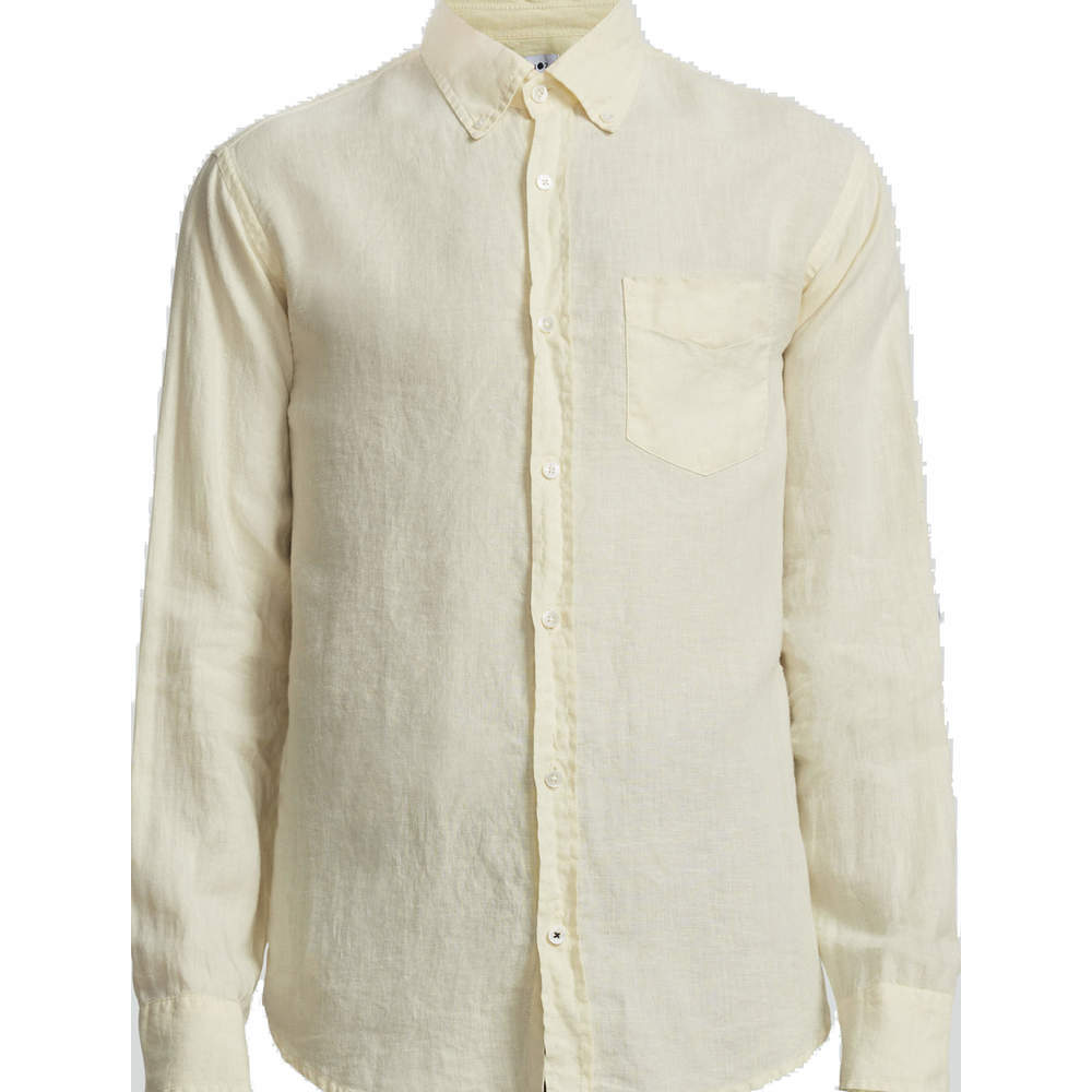 Levon Linen Shirt 5706 Yellow