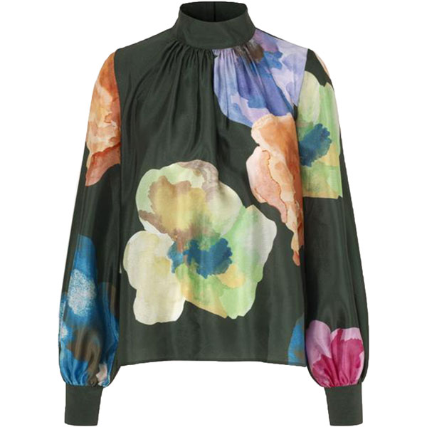 Eddy Textured Poly Blouse
