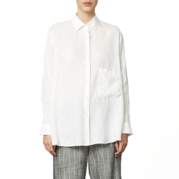 Elma Linen Shirt Off White