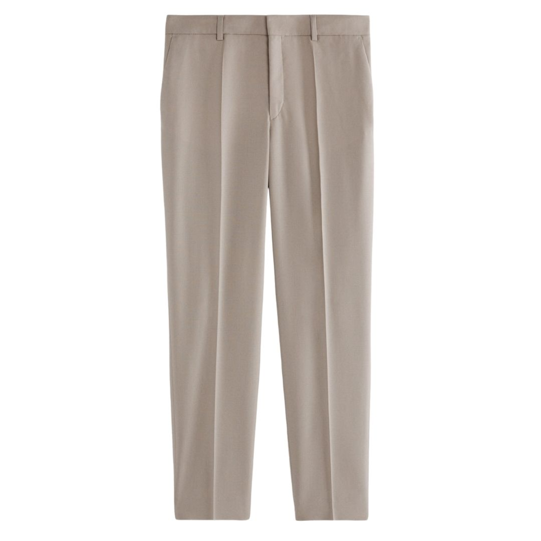 Emma Cropped Cool Wool Trousers