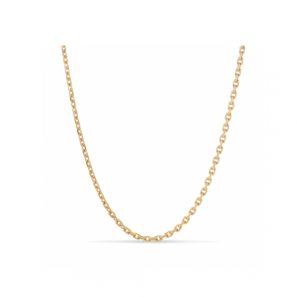 F+E Chain Necklace Golplated