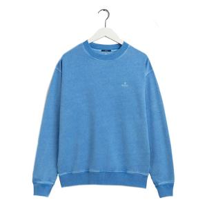 Sunfaded C-Neck Sweat Pacific Blue