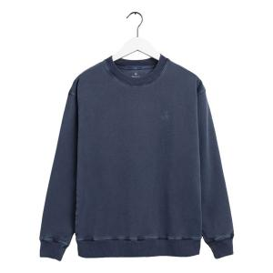 Sunfaded C-Neck Sweat Deep Ocean