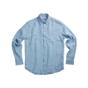 Levon Linen Shirt 5706 Light Blue