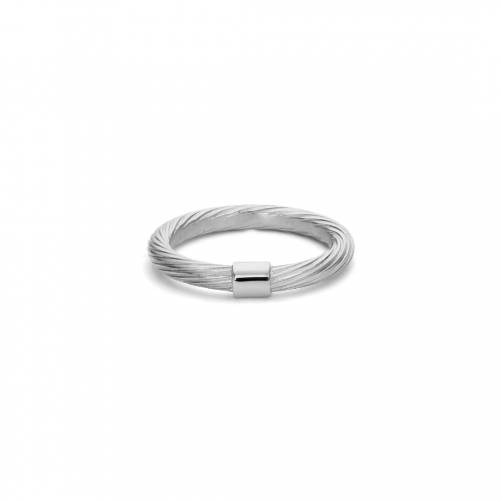 Medium Salon Ring Sterling Silver