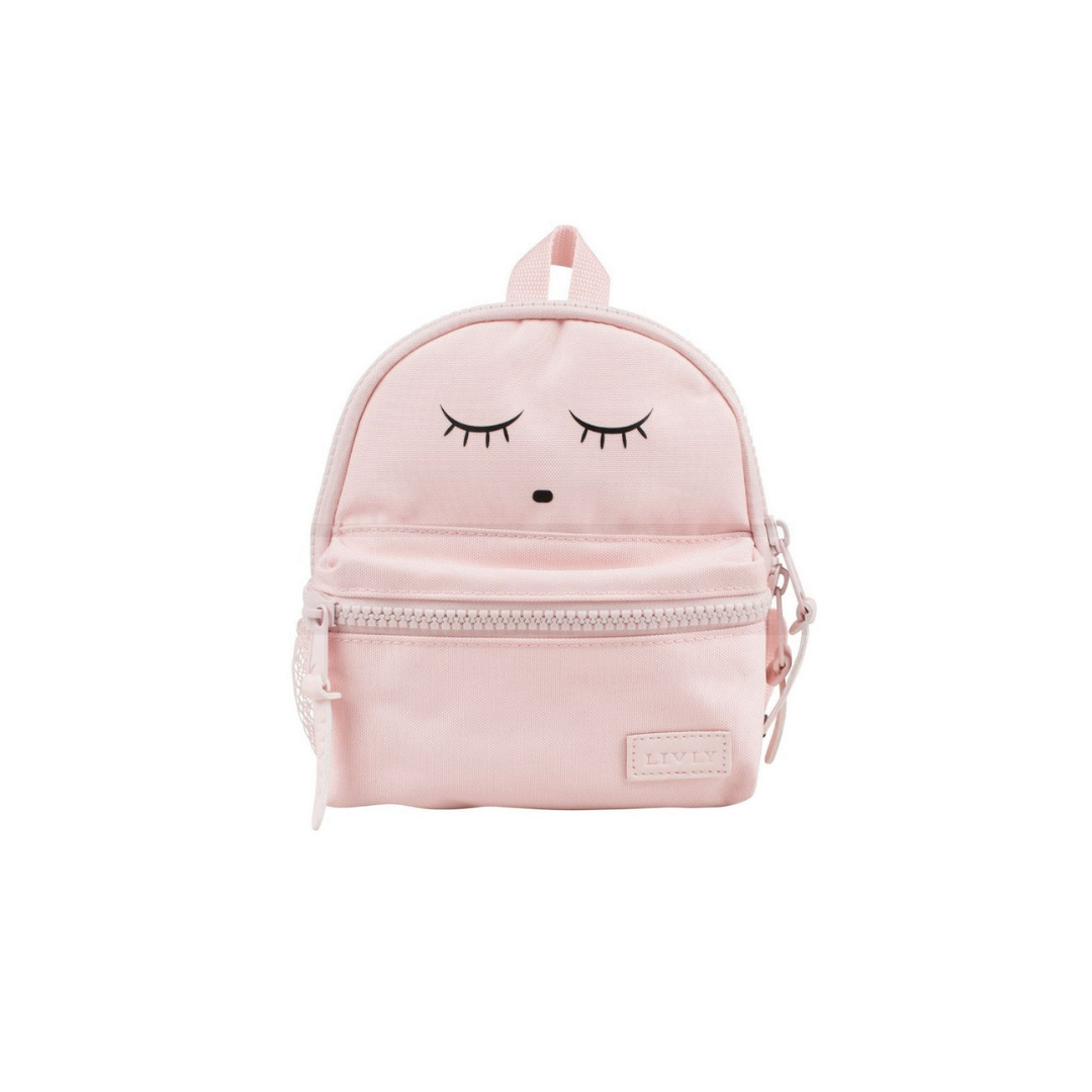 Sleeping Cutie Backpack Pink Large