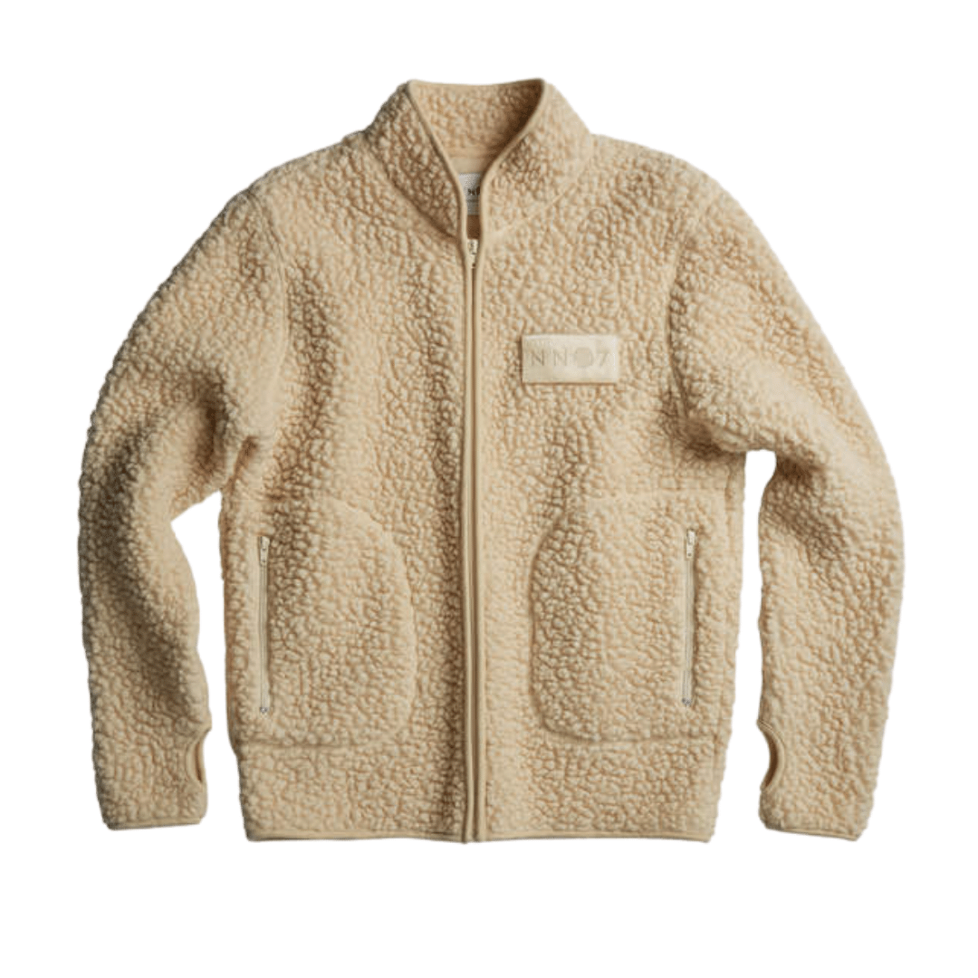 Mort Teddy Jacket Offwhite