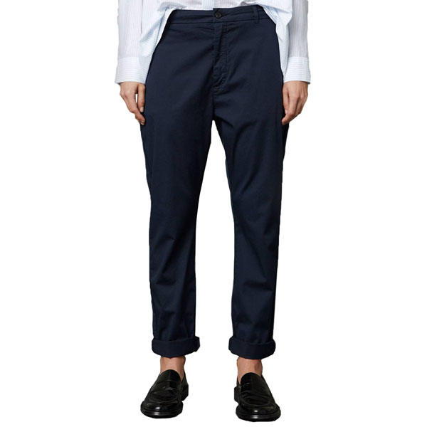 News Edit Trousers Dk Blue