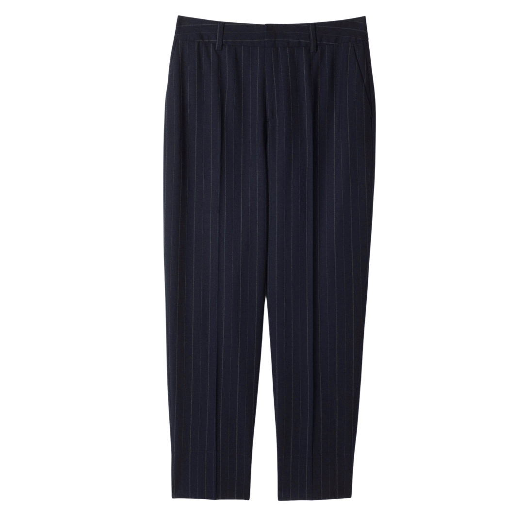 Nica Pinstripe Trouser Navy