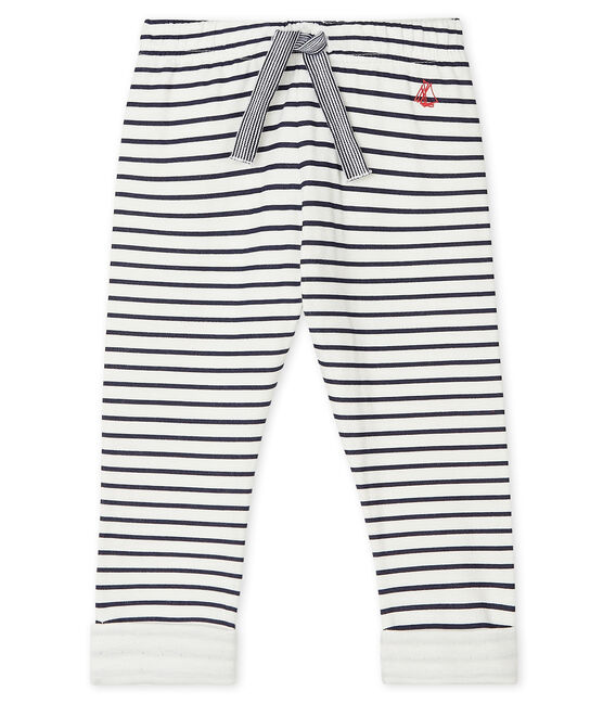 Pantalon Navy Stripe