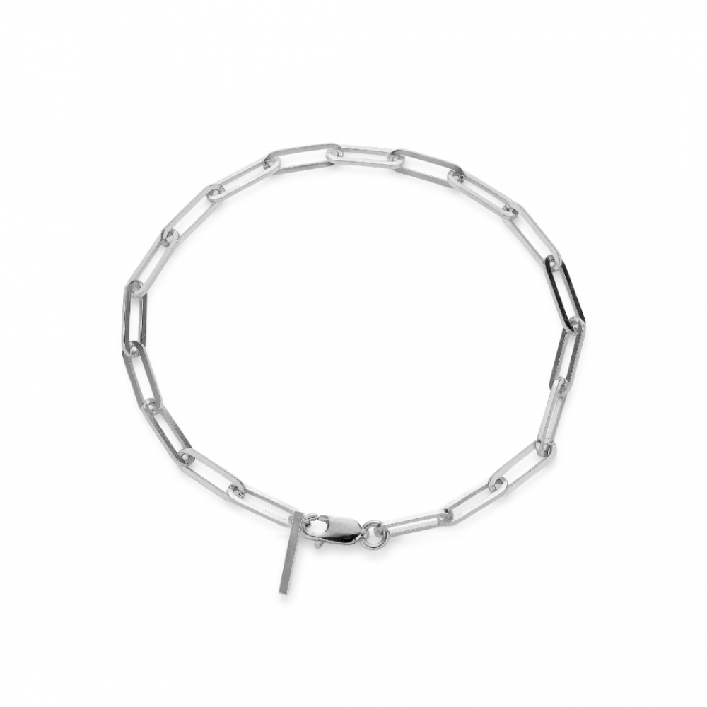 Reflection Stretched Bracelet Sterling Silver