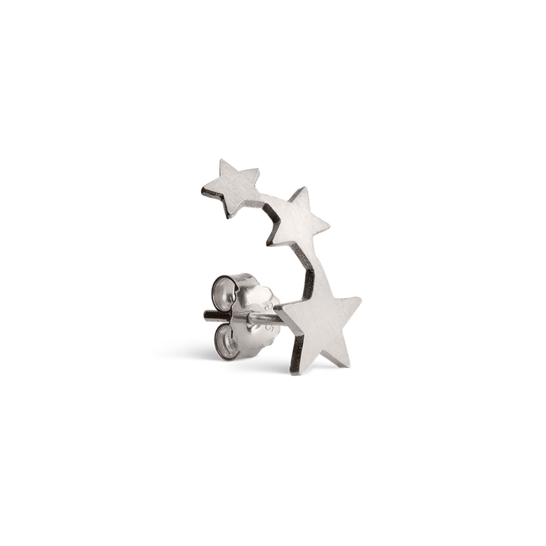 Row of Stars Sterling Silver