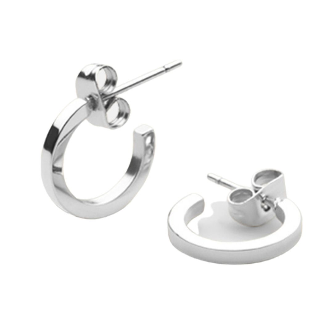 SB Earring Polished Steel