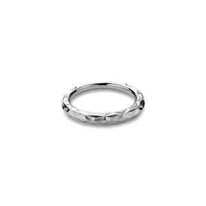 Small Impression Ring Sterling SIlver