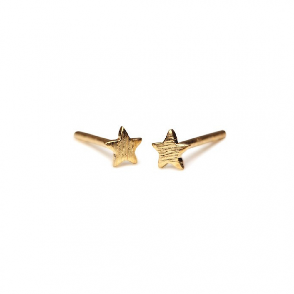 Small Star Stick Earrings