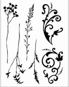 CC - Clearstamps Grasses and Embellishments