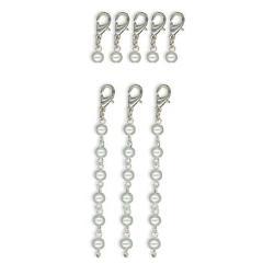 7G - Pearl ring Dangles