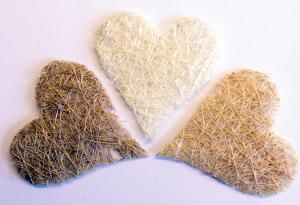 VK - Sisal hjärtan naturmix