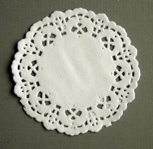 Tårtpapper liten rund
