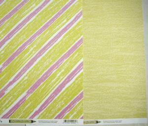 SS - Stripes & Scribble Yellow