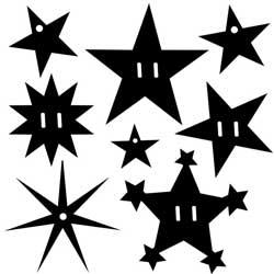 P - Acryl Star